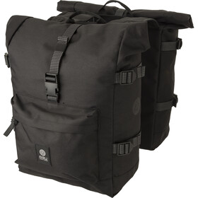 AGU Urban H2O II Roll-Top Double Pannier Bag MIK, black